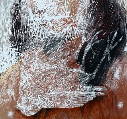 Mask 2, detail 1 - Diana Serghiuta
